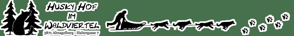 Huskyhof im Waldviertel – Husky Ausfahrt – Schlittenhunde Tour – Racing Kennel